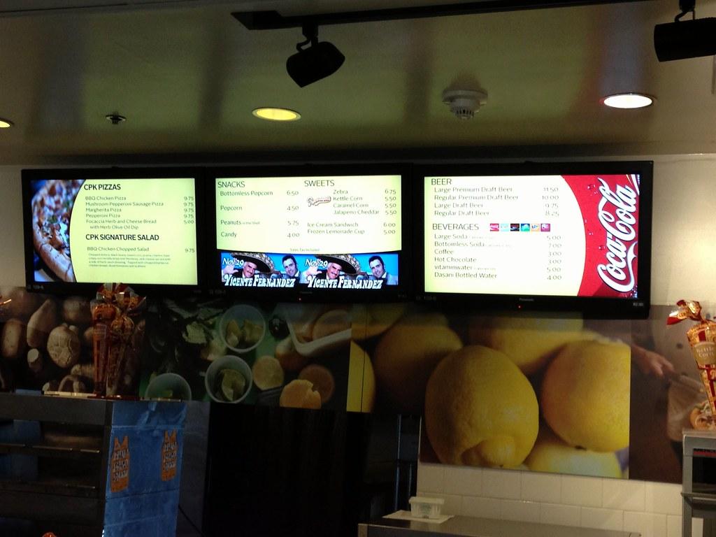 Informeer je klanten met een digital menuboard
